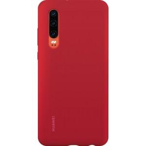 Huawei 51992848 ochranné púzdro pre Huawei P30, červené