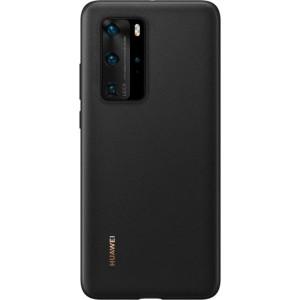 Huawei 51993787 PU púzdro pre Huawei P40 Pro, čierne
