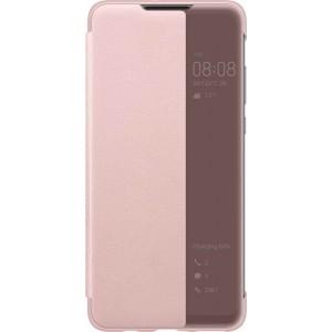 Huawei 51993076 View púzdro pre Huawei P30 Lite, ružové