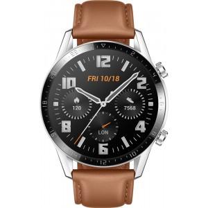 Huawei Watch GT 2 46mm, hnedé