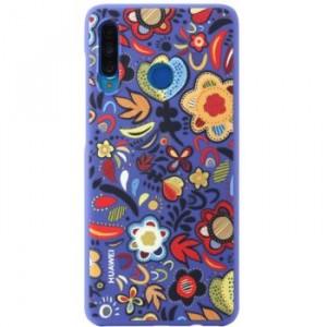 Huawei 51993074 ochranné púzdro pre Huawei P30 Lite, flower blue