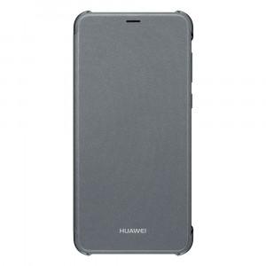 Huawei 51992274 flipové púzdro s oknom pre P Smart, čierne