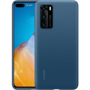 Huawei 51993721 silikónové púzdro pre Huawei P40, modré