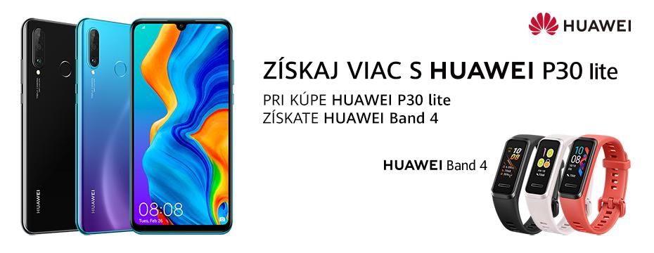 Získaj viac s Huawei P30 lite